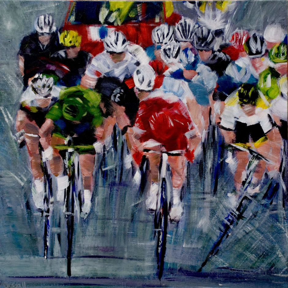 Peter The Great Sagan painting by Kathryn Sassall